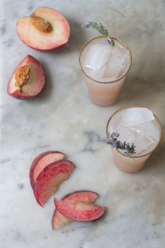 Mocktail Hour: White Peach Soda from QuitoKeeto | The Health Sessions