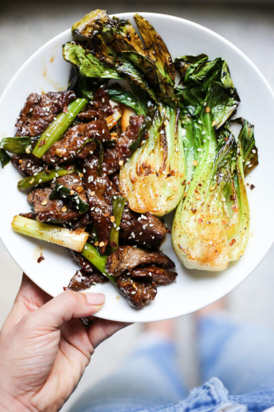 Winter Cabbages Recipes: Mongolian Beef Story Fry from The Defined Dish | The Health Sessions