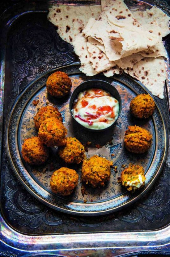 Eat Vegetables with Every Meal: Butternut Squash and Feta Falafel from Food and Travel | The Health Sessions